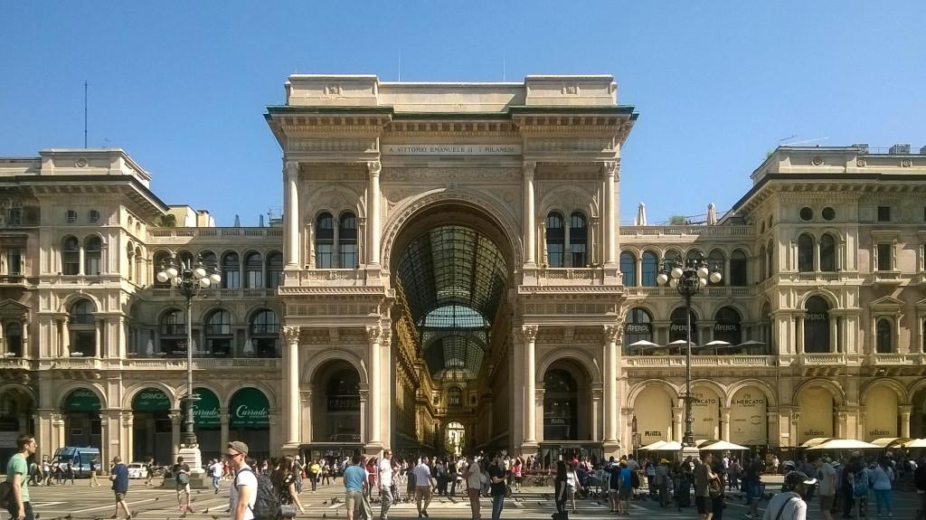 Galleria Vittorio Emanuele II, Milan (Italy)