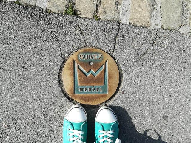 Wenzel Circular Walk sign