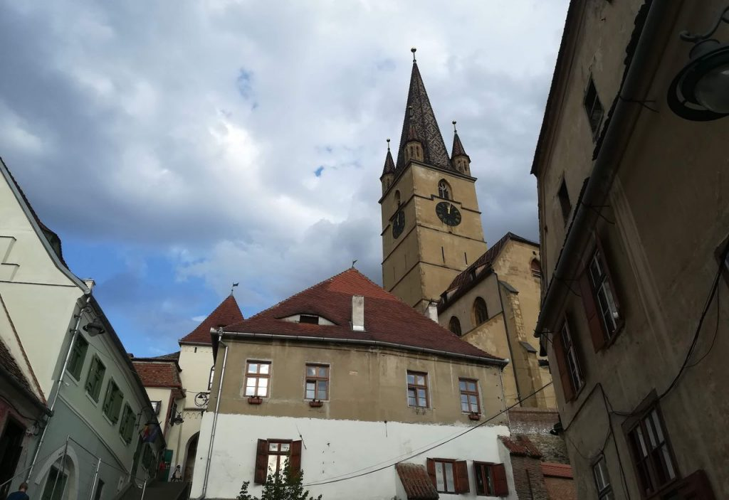 Tower of Lutheran Cathedral of Saint Mary